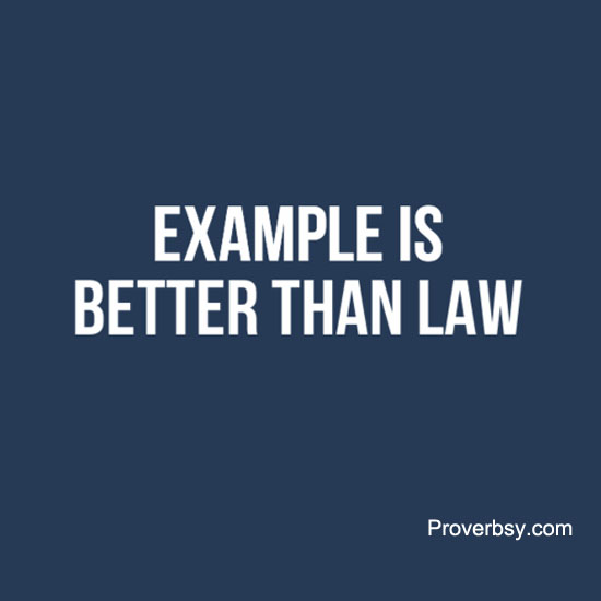 essay on example is better than precept Examples here means a model deed or an action for others to follow, precept means a rule or a command, people advice others on any issue that comes up but before we give advice, we should ask ourselves whether we practise what we preach.