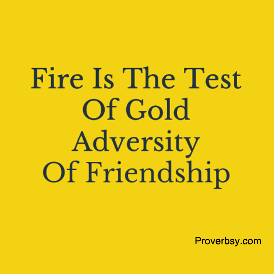 501 Words Essay on Prosperity brings Friends, Adversity tries Them