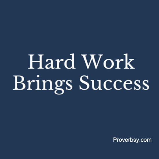 hard work equals success essay How passion for your job can lead to success job bringing passion to your work can lay a foundation for success even if a task is hard you don't.