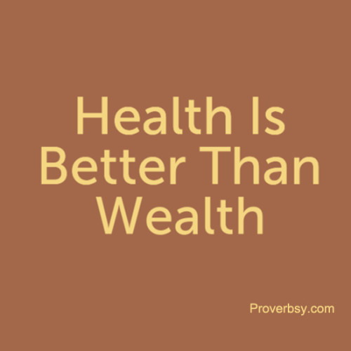 health is important than wealth Education is superior than wealth as a example: if you go to an rich person's house there will be written 'beware from dogs' and if you go to an educated person's house there will be.