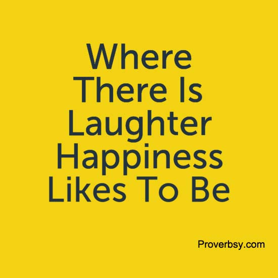 proverbs on laughter
