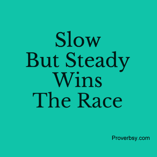 """proverbs essay for slow and steady win the race My parents used to inspire me by quoting this proverb since childhood  key  words: telemedicine, nepal, sustainability, strategy, slow and steady progression   in a paper, myers (2003) mentioned that the """"2001 telemedicine report to."""