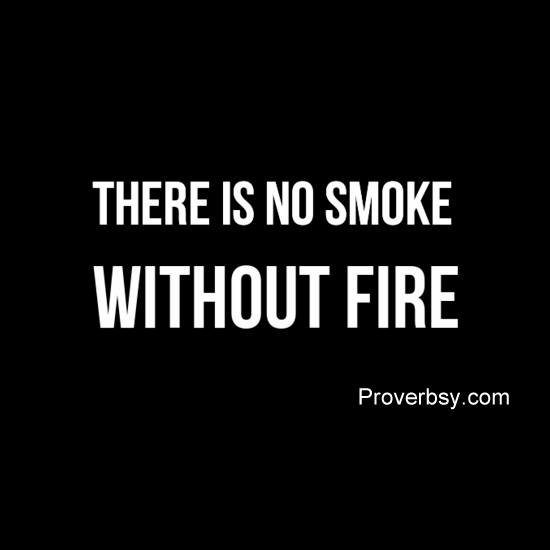 essay on there is no smoke without fire There's no smoke without fire idiom there's no such thing as a free lunch idiom there's no such thing/person (as) idiom there's no telling idiom there's no time like the present idiom.