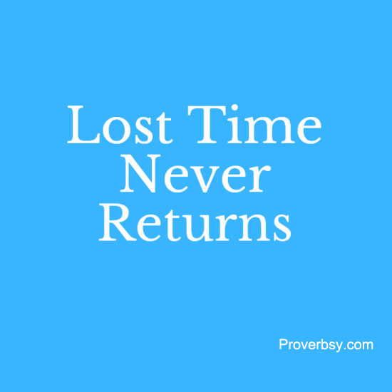 time damaged or lost will probably never go back essay